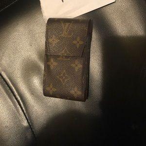 Monogram Louis Vuitton Cigarette Case